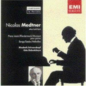 NICOLAS MEDTNER - Songs & Piano Music - CD - **Excellent Condition**