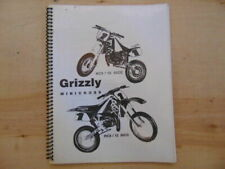 Malaguti Grizzly Minicross RCX/10 RCX/12 50CC Service Manual and Parts lists