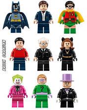 LEGO 76052 Batman Classic TV series Batcave - Minifigures W/ Accessories ONLY