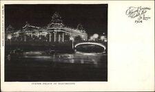 1904 St. Louis World's Fair NIGHT SCENE Postcard #4