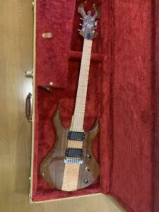 Moser Guitars Wraith/bc Rich 6 Strings Electric Guitar with Hard Case
