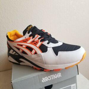Asics Gel-Kayano Trainer Shoes White Orange Black Mens SZ ( 1191A200-100 )