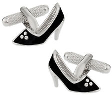 Women's Shoe Cufflinks Direct from Cuff-Daddy