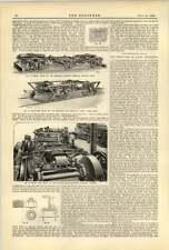1893 Sheffield Car Company Three Rivers Mich Radial Truck