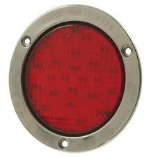 "Grote (53192) Supernova 4"" Full Pattern LED Stop, Turn, Tail Light - Red"