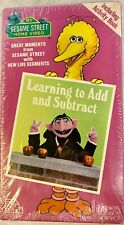 Sesame Street Home Video (VHS,1987) Learning to Add & Subtract w/ the Count New