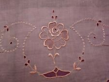 7 Piece Set of Madeira Embroidered and Cutwork Dollies