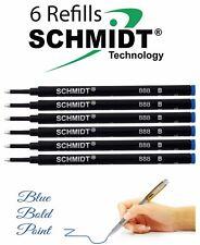 Schmidt BROAD Rollerball Pen Refill - 6 Pcs - Blue 888