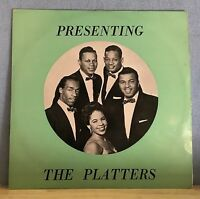 THE PLATTERS Presenting UK Vinyl LP EXCELLENT CONDITION