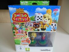 Animal Crossing Amiibo Festival - Limited Edition (Nintendo Wii U) NEW BOXED