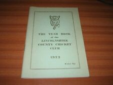 The Year Book of the LINCOLNSHIRE County Cricket Club 1973