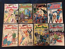 SUPERMAN'S PAL JIMMY OLSEN lot of 8 comics: #68,69,80,82,83,127,135 (Key),150 GD