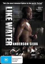 Like Water - Anderson Silva NEW R4 DVD