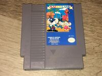 Mappy-Land Nintendo Nes Cleaned & Tested Authentic