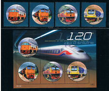 THAILAND 2017 Thai Railway (with S/S)