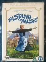 The Sound Of Music (DVD, 2006 2-Disc 40th Anniversary Edition Set) VGC Free POST
