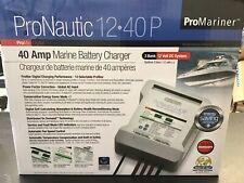 New listing ProMariner ProNautic 1240P 40 Amp 3 Bank Marine Battery Charger 40A 63140 New!