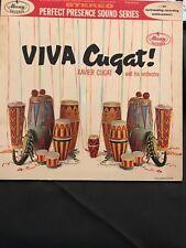 "XAVIER CUGAT Latin Orchestra Music Record Album "" Viva Cugat! "" PPS-6003"