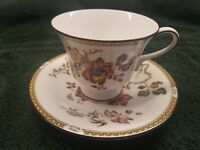 Wedgwood SWALLOW Cup & Saucer Excellent Condition