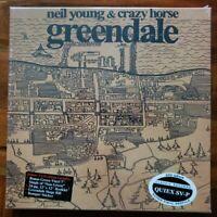 "Neil Young & Crazy Horse~Greendale~Factory Sealed 200 Gram 3LP Vinyl +7"" Box Set"