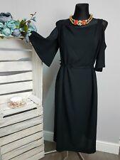 Bravissimo Cold Shoulder Dress in Black RRP £59.00 (43)