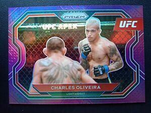 2020 Panini Prizm UFC * CHARLES OLIVEIRA #174 PURPLE PRIZM PARALLEL /149