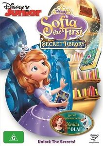 The Sofia The First - Secret Library (DVD, 2017)