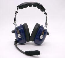 Noise Cancelling Pilot Headset for MOTOROLA GP68 CP150 GP88  VL50 P110 CLS BLUE