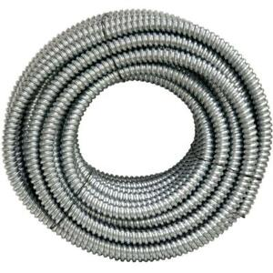 100 ft. X 1/2 in. Flexible Steel Conduit AFC Cable Systems Wire Metal Raceway