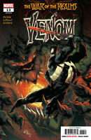 Venom #13 War of the Realms New Symbiote Suit Marvel comic 1st Print 2019 NM