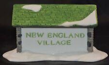 Dept 56 New England Village Sign 65706 Retired Mib