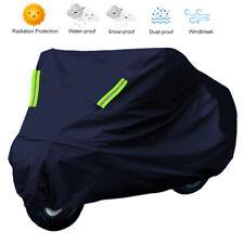 Housse Bâche de Moto Couverture Etanche Respirable Contre UV Pluie Protection XL