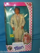 Wedding Day Alan Barbie Doll Mattel #9607 from 1990 Loose Complete Midge Husband