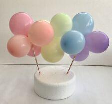 Balloon Cake Topper DIY Kit. Rainbow mini garland Rainbow Cake Decoration