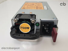 HP switching power supply DPS-750RB A P/N 506822-101