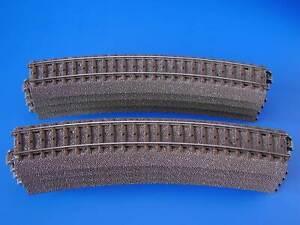 MARKLIN H0 - 24224 - 8x Curved Circuit Track R2 24,3° - C Track / LN