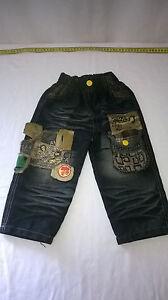 LBL Girls Jeans / Pants, Blue Denim look, Stretch Waist, Size 16