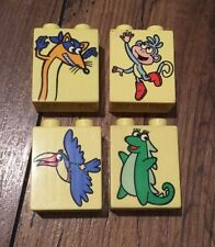 LEGO Duplo Dora The Explorer Animal Bricks Monkey Fox Parrot Dinosaur - 4066
