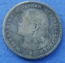 Nederland - The Netherlands 1893 dubbeltje, 10 cent 1893 Wilhelmina Silver
