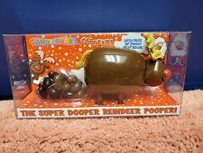 """Candy Craft Christmas Reindeer Super Dooper Reindeer Pooper 6.5"""" Toy Reindeer"""