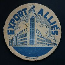 Brasserie des Alliés sous-bock bierviltje bierdeckel coaster (bleu)