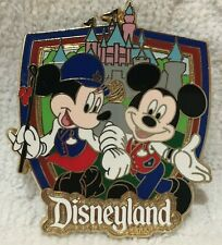 New listing Rare Disneyland Resort Mickey & Minnie Mouse Cast Member Guided Tour Enamel Pin