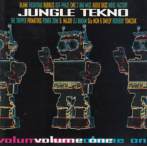 Various – Jungle Tekno Volume One (Vol 1) CD