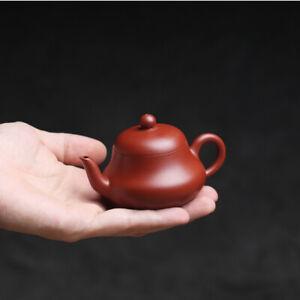 true yixing zisha dahongpao clay marked tea pot pear shaped pot of tea small new