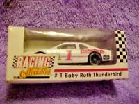 REVELL, RACING COLLECTIBLES, #1 BABY RUTH THUNDERBIRD, DIE CAST CAR 1/64 SCALE