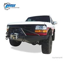 BLACK TEXTURED Extension Style Fender Flares 92-96 Ford F-150 F-250 F-350 Bronco