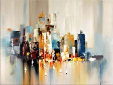 Abstrakte Kunst - Gemälde Acrylbild Malerei - Skyline von New York Martin Klein