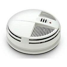 Night Vision Smoke Detector 90 Day Battery Hidden Nanny Camera Bottom View