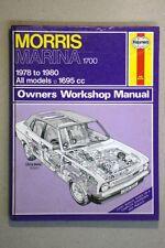 MORRIS MARINA 1700 (1978 - 80)  HAYNES WORKSHOP MANUAL WM30