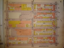 ORIG 1929 Brooklyn Sunset Park Map New York City NYC 3